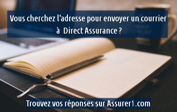adresse direct assurance
